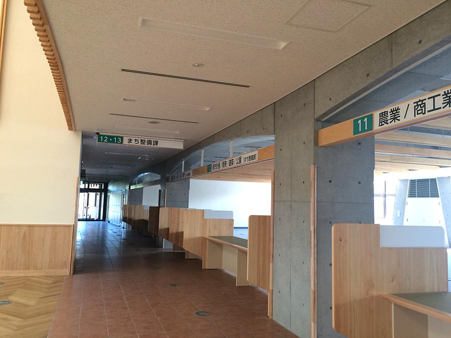 川島町庁舎新築工事