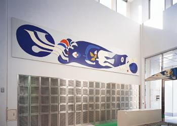 横浜市環境事業局磯子事務所 玄関