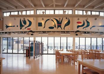 群馬県藤岡市産地形成促進施設新築工事 レストラン